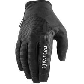 Cube X NF Long Finger Gloves, czarny